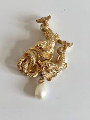 Dior Spilla oro-bianco