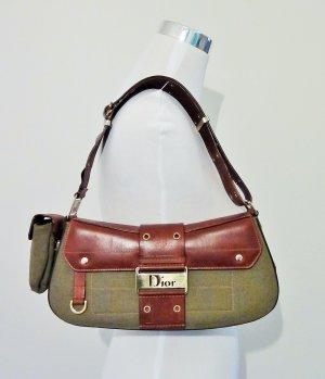 Orig. Christian Dior Bag /Schultertasche/Leder/Denim/mit RECHNUNG!