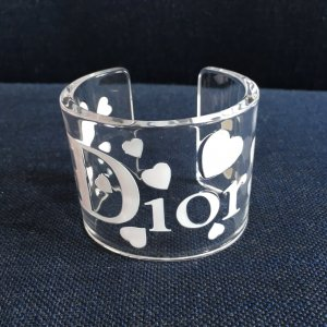 Dior Bangle white synthetic material