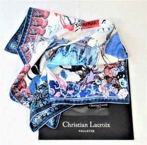 Christian Lacroix Neckerchief multicolored silk