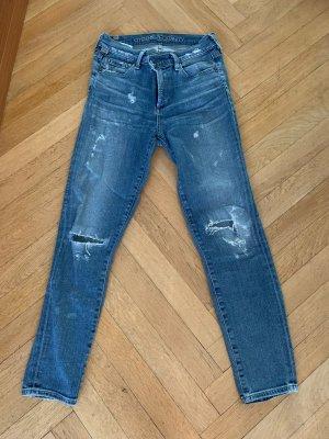 Citizens of Humanity Skinny jeans blauw Katoen
