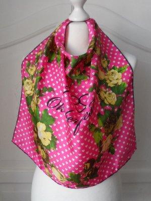 orig. CODELLO Seiden Tuch Wies`n nur 1 x getragen Pink Gelb Grün
