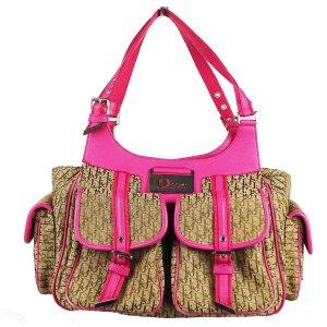 Christian Dior Carry Bag pink-sand brown