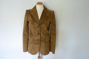 Dolce & Gabbana Leather Jacket light brown suede