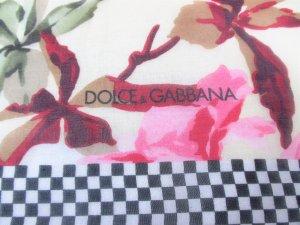 Orig. Dolce & Gabbana Seidentuch/Geblümt/NEU!
