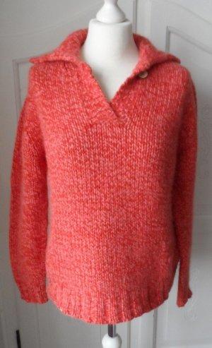 orig. Donaldson Grobstrick Pullover Gr. XL (40/42) Koralle nur wenig getragen