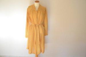 Orig. DRIES VAN NOTEN Print Crepe Blusenkleid 38 Kleid mit Gürtel