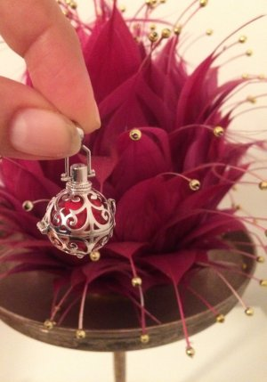 Engelsrufer Pendant silver-colored-red real silver