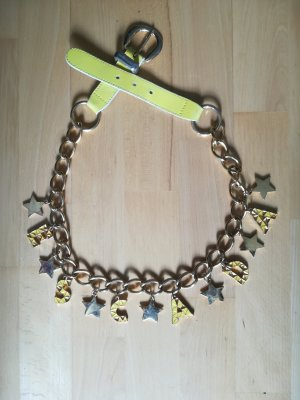 Escada Chain Belt gold-colored-yellow