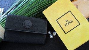 Fendi Porte-clés noir-doré