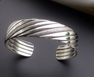 Orig. Franz Scheurle (Quinn) 925 Sterling Silber Armreif Armband Silberarmreif Vintage