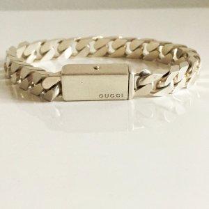 Orig. GUCCI 925 Sterling Silberarmband Massiv Silber Panzerarmband Armband Unisex