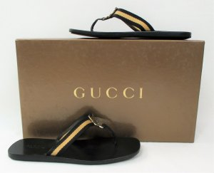 Gucci Shoes black-sand brown leather