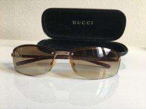 Orig. Gucci Sonnenbrille Brille Case Etui Brillenetui gold