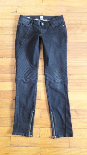orig Hugo Boss Jeans Biker Stil 28 schwarz slim fit