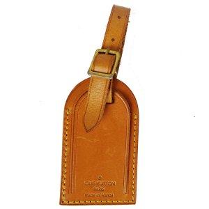 Louis Vuitton Breloque brun sable cuir
