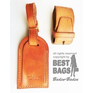 Louis Vuitton Sac à main brun sable cuir
