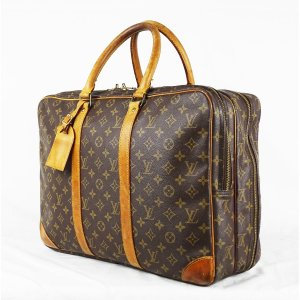 "ORIG. LOUIS VUITTON ""ALIZE 2 POCHES BUSINESS"" Reisetasche m. 2 Abteilungen / GUT"