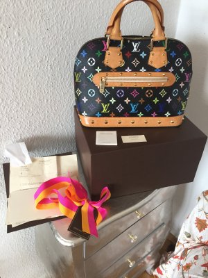 Orig. Louis Vuitton Alma Tasche Multicolore Monogram LV Speedy Rechnung Bag
