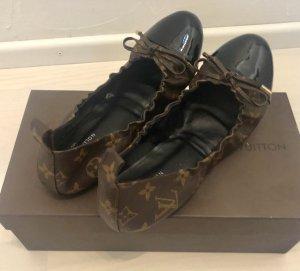 22c5bf5f636e6 Louis Vuitton Ballerinas Flirty Flats Schuhe neuwertig ohne Karton 39  Monogramm
