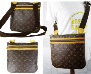 "ORIG. LOUIS VUITTON ""BOSPHORE GM"" CROSS-BODY-Bag / GUTER ZUSTAND"