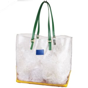 Louis Vuitton Shopper blanc-vert