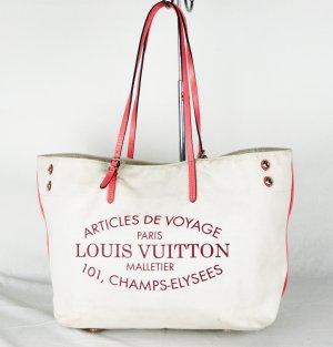 """ORIG. LOUIS VUITTON """"CABAS MM"""" aus 2014 Schultertasche / SEHR GUT"""