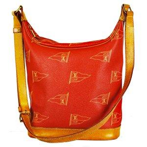 Louis Vuitton Sac porté épaule rouge-rouge fluo