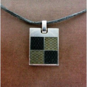 Louis Vuitton Pendant silver-colored-bronze-colored