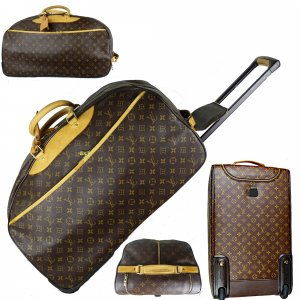 Louis Vuitton Valise Trolley brun