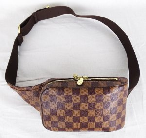 "ORIG. LOUIS VUITTON ""GERONIMOS"" DAMIER BAUCHTASCHE BUM BAG Waist Bag / SEHR GUT"