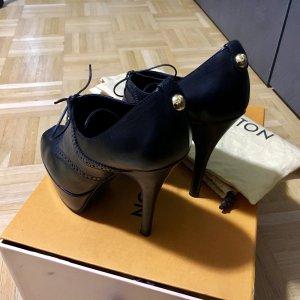 Louis Vuitton Hoge hakken zwart-donkerblauw