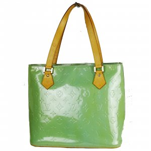 ORIG. LOUIS VUITTON HOUSTON VERNIS LACK-LEDER MINT Handtasche handbag / SEHR GUTER ZUSTAND