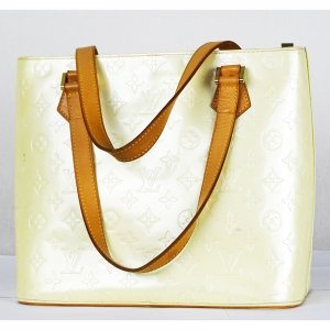 Louis Vuitton Bolso blanco puro Cuero