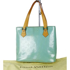 Louis Vuitton Sac Baril vert menthe cuir