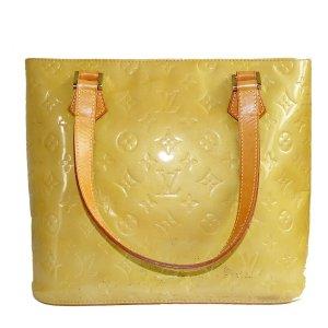 Louis Vuitton Bolso amarillo oscuro-camel Cuero