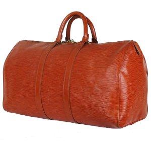 Louis Vuitton Reistas cognac Leer
