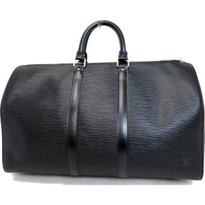 Louis Vuitton Bagage noir cuir