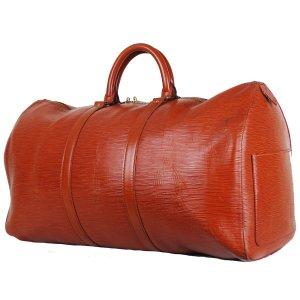 Louis Vuitton Sac de voyage cognac cuir