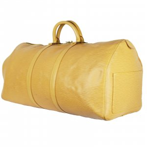Louis Vuitton Travel Bag cream leather