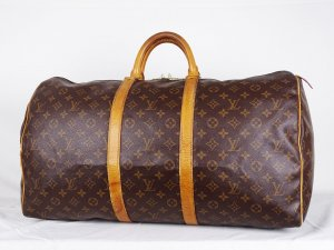"ORIG. LOUIS VUITTON ""Keepall 55 "" Reisetasche / GROSS/ Handgepäck/ GUT"