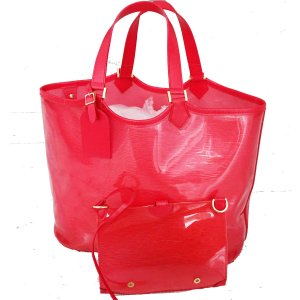 Louis Vuitton Carry Bag red