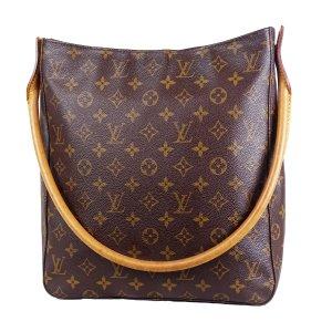 Louis Vuitton Bolso con correa marrón