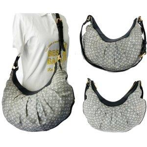 Louis Vuitton Sac porté épaule gris