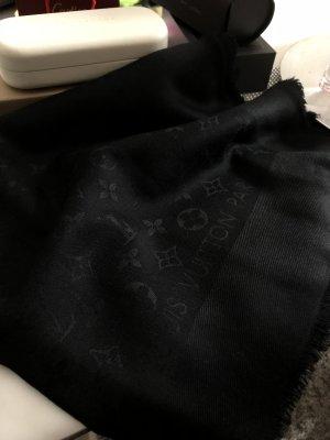 Louis Vuitton Écharpe en soie noir