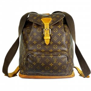 ORIG. LOUIS VUITTON MONTSOURIS GM RUCKSACK BACKPACK GROSS MONOGRAM / GUTER ZUSTAND