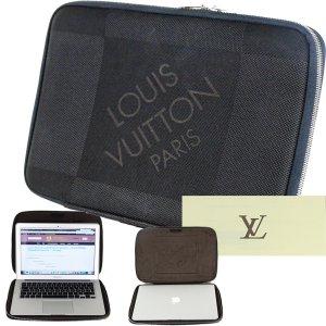 Louis Vuitton Sacoche d'ordinateur noir