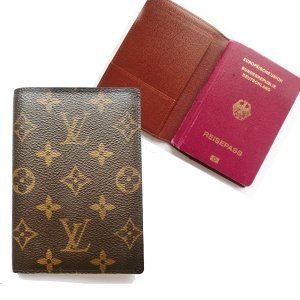 ORIG. LOUIS VUITTON PASSPORT COVER REISEPASSHÜLLE / SEHR GUTER ZUSTAND