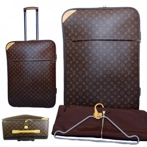 Louis Vuitton Trolley bruin