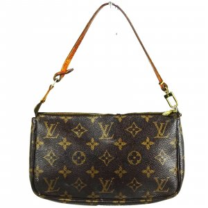 ORIG. LOUIS VUITTON POCHETTE ACCESSOIRES MONOGRAM CANVAS Tasche Bag Clutch